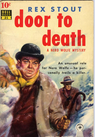 ... Three Doors to Death--Door to Death--Dell paperback ...  sc 1 st  The Wolfe Pack & Nero Wolfe u2014 Three Doors to Death with novellas Man Alive Omit ... pezcame.com